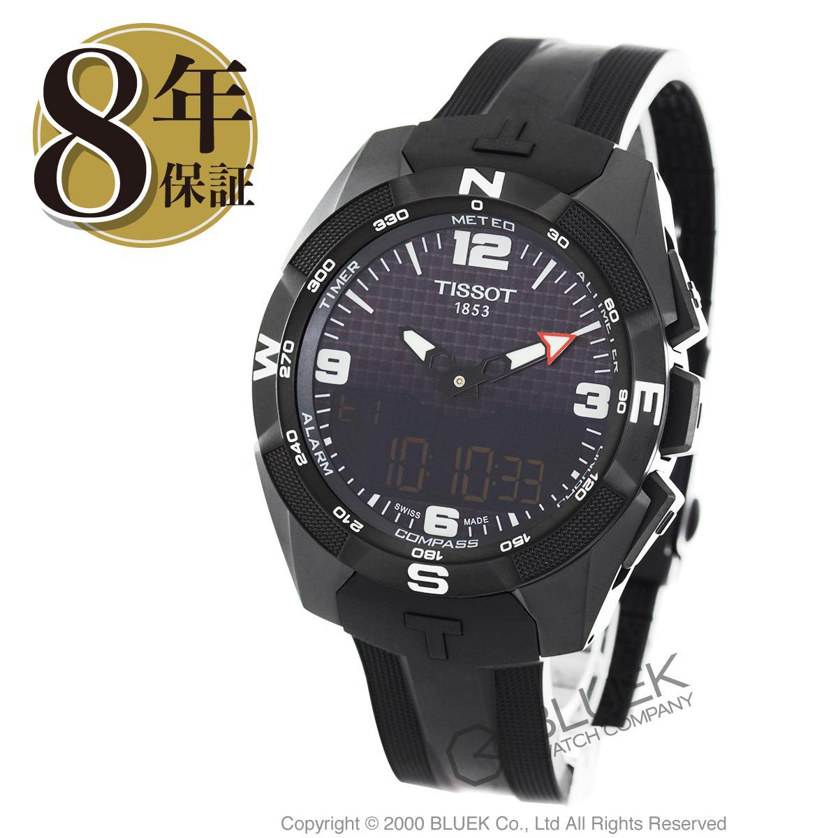 ティソ T-タッチ エキスパート ソーラー クロノグラフ 腕時計 メンズ TISSOT T091.420.47.057.01_8 バーゲン ギフト プレゼント