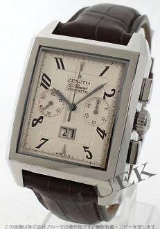 Zenith ZENITH L primero port royal alligator leather men 03.0550.4010.01 .C507 watch clock