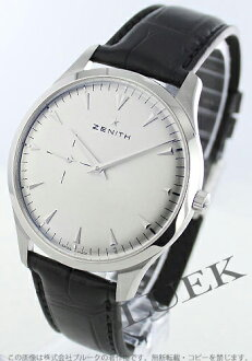 Zenith ZENITH elite ultra-thin alligator leather mens 03.2010.681/01.493 watch clock