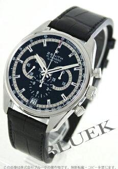 Zenith ZENITH El Primero 36000 VpH alligator leather mens 03.2040.400/21.C496 watch clock