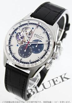 Zenith ZENITH El Primero chronograph master alligator leather mens 03.2040.4061/69.C496 watch clock