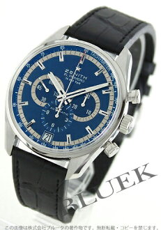 1,975 Zenith ZENITH L primero 36000VpH alligator leather world limitation men's 03.2041.400/51.C496 watch clock