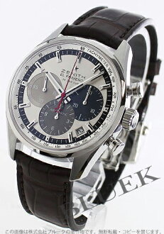 Zenith ZENITH El Primero 36000 VpH alligator leather mens 03.2150.400/69.C713 watch clock