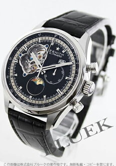 Zenith ZENITH El Primero chronograph master alligator leather mens 03.2160.4047/21.C714 watch clock