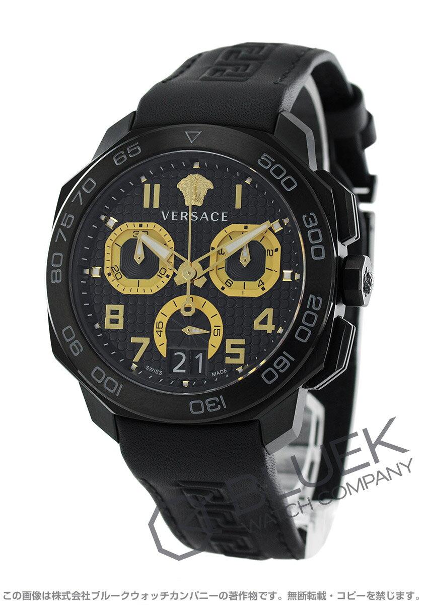 ヴェルサーチ VERSACE 腕時計 ディロス クロノ メンズ VQC020015