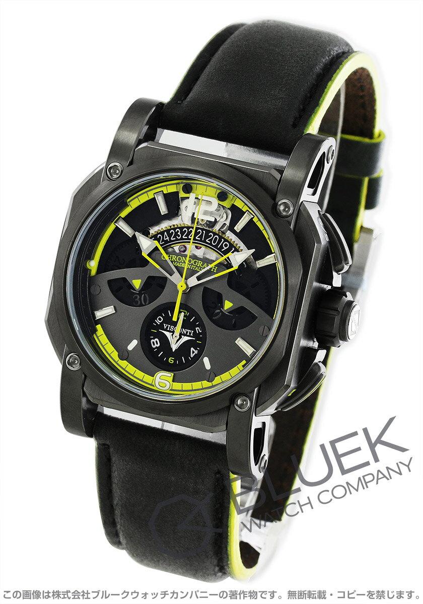 ヴィスコンティ 2スクエアード ロードスター 25th アニバーサリー 世界限定99本 クロノグラフ 腕時計 メンズ VISCONTI W105-03-145-0616 バーゲン ギフト プレゼント
