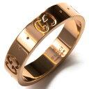グッチ リング【指輪】 アクセサリー メンズ レディース GGアイコン ピンクゴールド 152045 J8500 5702 GUCCI