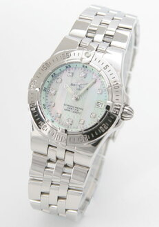 Blight ring Breitling wind rider Lady's A710L14PA watch clock