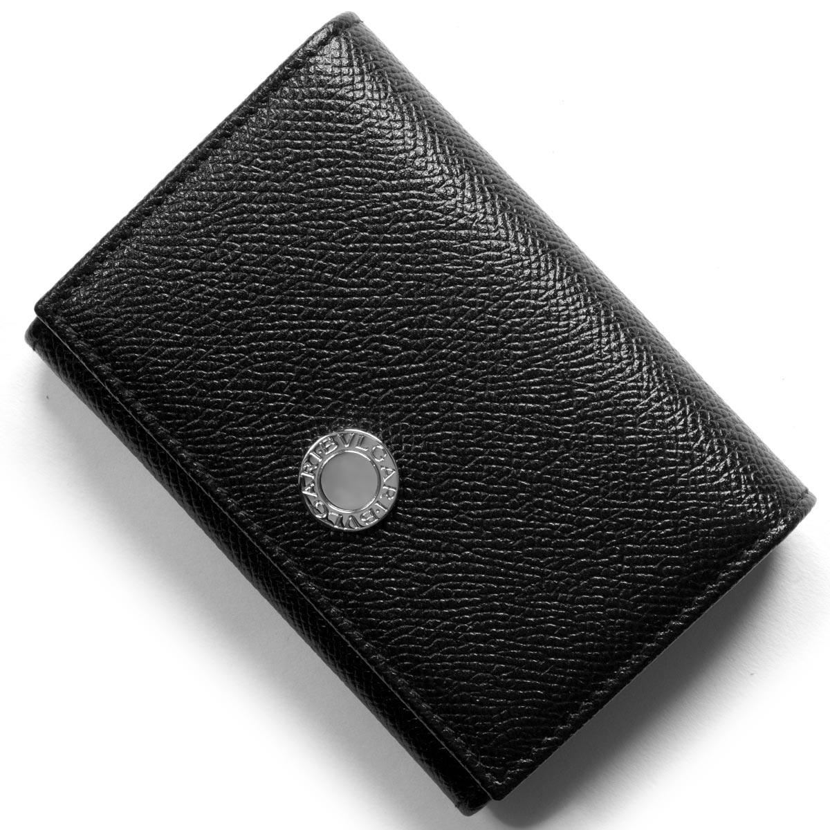 ブルガリ カードケース メンズ レディース クラシコ CLASSICO ブラック 25740 BVLGARI