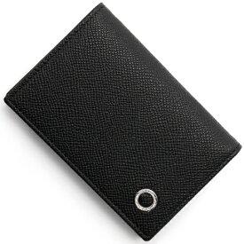 ブルガリ カードケース メンズ ブルガリブルガリ マン レザー ブラック 30400 BVLGARI