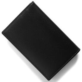 エッティンガー カードケース/名刺入れ メンズ スターリング ブラック&レッド 143JR ST RED ETTINGER