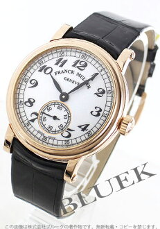 7361 Frank Muller round vintage PG pure gold rolling by hand black co-leather black / white Lady's B S6 VIN
