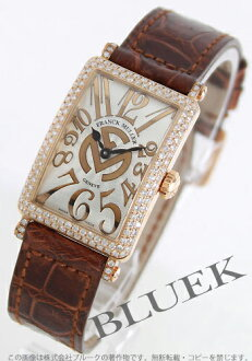 Franck Muller FRANCK MULLER Long Island relief diamond pure gold crocodile leather world limited 25 ladies 902 QZ D REL FM