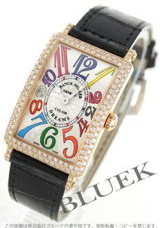 Frank Muller FRANCK MULLER Long Island colored races Rihm's diamond pure gold クロコレザーレディース 952 QZ D