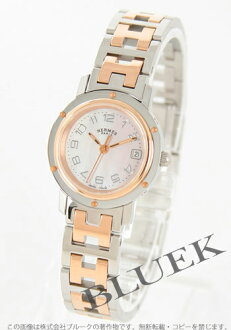 Hermes Hermes Clipper acre ladies CL4.221.214/3824 watch clock