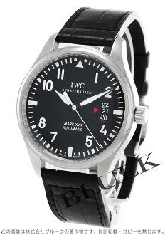 IWC International Watch Company pilot mark XVII alligator leather mens IW326501