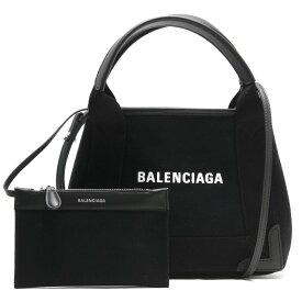 【X'masSALE】バレンシアガ トートバッグ/ショルダーバッグ バッグ レディース ネイビーカバス XS ブラック 390346 AQ38N 1000 BALENCIAGA