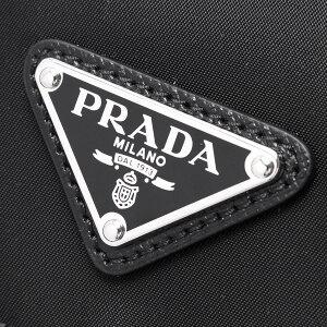 プラダショルダーバッグバッグメンズレディースヴェラ三角ロゴプレートブラック1BD671V44F0002VOOOPRADA