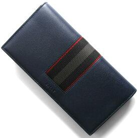 バリー 長財布 財布 メンズ バリロ インクブルー BALIRO HP 127 6235652 BALLY