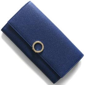ブルガリ 長財布 財布 レディース ブルガリブルガリ レザー ブルーダリア 36317 BVLGARI