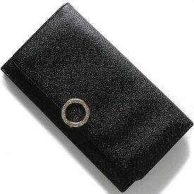 ブルガリ 長財布 財布 メンズ レディース ブルガリブルガリ レザー ブラック 39373 BVLGARI