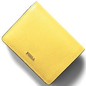 c26c4386cb29 フルラ 二つ折り財布/ミニ財布/カードケース 財布 レディース バビロン スモール ソールイエロー