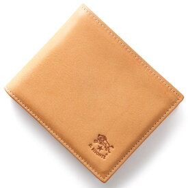イルビゾンテ 二つ折り財布 財布 メンズ レディース スタンダード STANDARD ナチュラル C0817 P 120 IL BISONTE