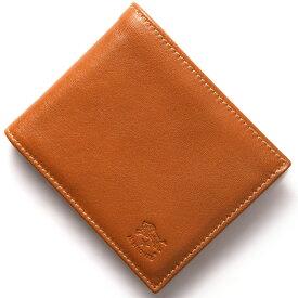 イルビゾンテ 二つ折り財布 財布 メンズ レディース スタンダード 【STANDARD】 キャラメルブラウン C0817 P 145 IL BISONTE