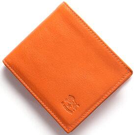 イルビゾンテ 二つ折り財布 財布 メンズ レディース スタンダード オレンジ C0817 P 166 IL BISONTE