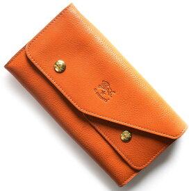 イルビゾンテ 長財布 財布 メンズ レディース スタンダード オレンジ C0881 P 166 IL BISONTE