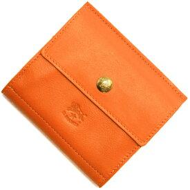 イルビゾンテ 二つ折り財布 財布 メンズ レディース オレンジ C0910 P 166 IL BISONTE