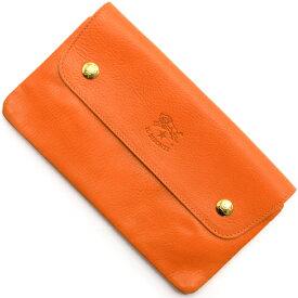 イルビゾンテ 長財布 財布 メンズ レディース オレンジ C0937 P 166 IL BISONTE