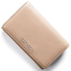 ジミーチュウ二つ折り財布財布レディースマーリーMARLIEバレエピンクベージュMARLIEGRZBPIJIMMYCHOO