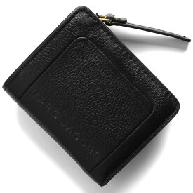 マークジェイコブス 二つ折り財布 財布 レディース ザ テクスチャード ボックス ブラック M0015107 001 2020年春夏新作 MARC JACOBS
