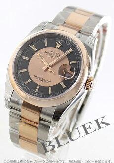 Rolex Rolex date just men Ref .116201 watch clock