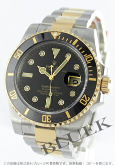Rolex ROLEX Submariner diamond Wilsdorf 300 m waterproof mens 116613