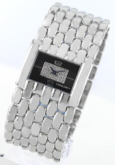 Chaumet Cassius XL diamond black ladies 099400-045 watch watches