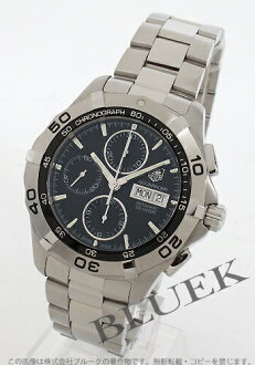 Rakuten Japan sale ★ Tag Heuer Aquaracer 300 m waterproof automatic chronograph black mens CAF2010. BA0815