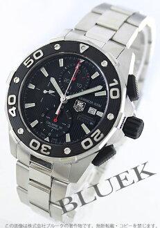 Tag Heuer Aquaracer Calibre 16 automatic chronograph 500 M water resistant black mens CAJ2112... BA0872