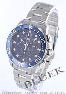 Tag Heuer Aquaracer 300 m water resistant chronograph blue mens CAN1011... BA0821