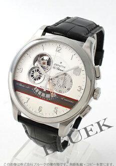 169 Zenith ZENITH L primero ground class alligator leather world limited men's 03.0520.4021/69.C492 watch clock