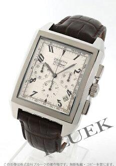 Zenith ZENITH L primero port royal alligator leather men 03.0550.400/02.C507 watch clock