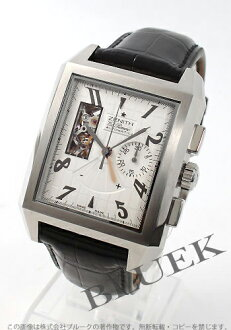 Zenith ZENITH El Primero port Royale alligator leather mens 03.0550.4021/01.C503 watch clock