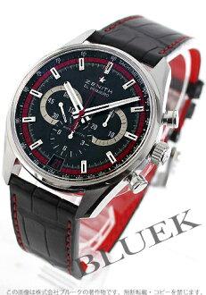 Zenith ZENITH El Primero 36000 VpH alligator leather world limited 500 pieces men's 03.2043.400/25.C703 watch clock