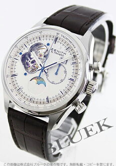 Zenith ZENITH El Primero chronograph master alligator leather mens 03.2160.4047/01.C713 watch clock