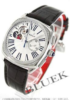 Zenith ZENITH heritage opening diamond alligator leather Lady's 16.1925.4062/01.C725 watch clock