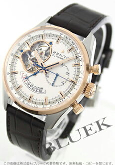 Zenith ZENITH El Primero chronograph master pure gold alligator leather mens 51.2080.4021/01.C494 watch clock