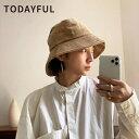 TODAYFUL トゥデイフル 秋冬 LIFE's ライフズCorduroy Bucket Hat コーデュロイバケットハット 12021043【2020A/W...