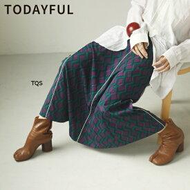 TODAYFUL 春夏 トゥデイフル LIFE's ライフズGeometric Piping Skirt ジオメトリックパイピングスカート 12010811【2020S/S新作予約】【4月下旬-5月下旬お届け予定】≪1月22日予約開始≫