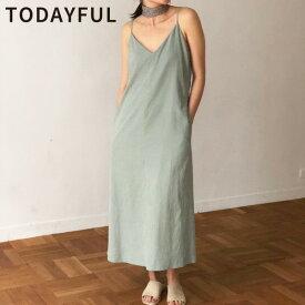 【SUMMER SALE】【50%OFF】TODAYFUL トゥデイフル LIFE's ライフズCamisole Tie Dress キャミソールタイドレス 11910338【あす楽】【送料無料】